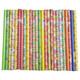 Geschenkpapier 70x200cm schöne Ganzjahresmotive vielfach sortiert, 25 Stk.