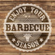 Motivservietten 32x32cm 3-lagig Barbecue-Season, 20 Stk.