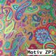 Geschenkpapier Prestige metallisiert  50 cm x 100 m   Motiv ZP5 Paisley Muster