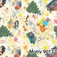 Weihnachtsgeschenkpapier 70 cm x 200 m | Motiv 90132