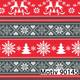 Weihnachtsgeschenkpapier 70 cm x 200 m | Motiv 90145
