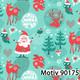 Weihnachtsgeschenkpapier 30 cm x 200 m | Motiv 90175